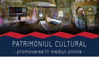 Patrimoniul cultural – promovarea în mediul online