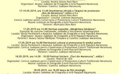 "Zilele Maramureșului – ""Haida, hai în Maramureș!"" , Ediția a V-a, 17 -19 mai 2019"