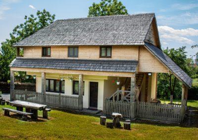 Casa poartă – sediu administrativ/casierie