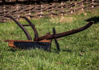 Plug de lemn cu brăzdar întărit, Cupșeni, înc.sec. XX