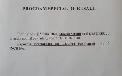 Program special de Rusalii