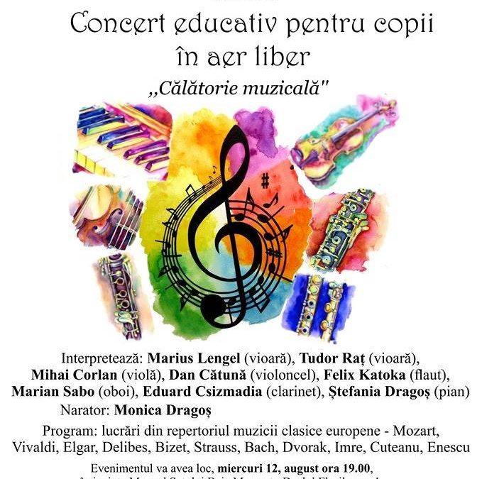 Concert Educativ pentru copii în aer liber