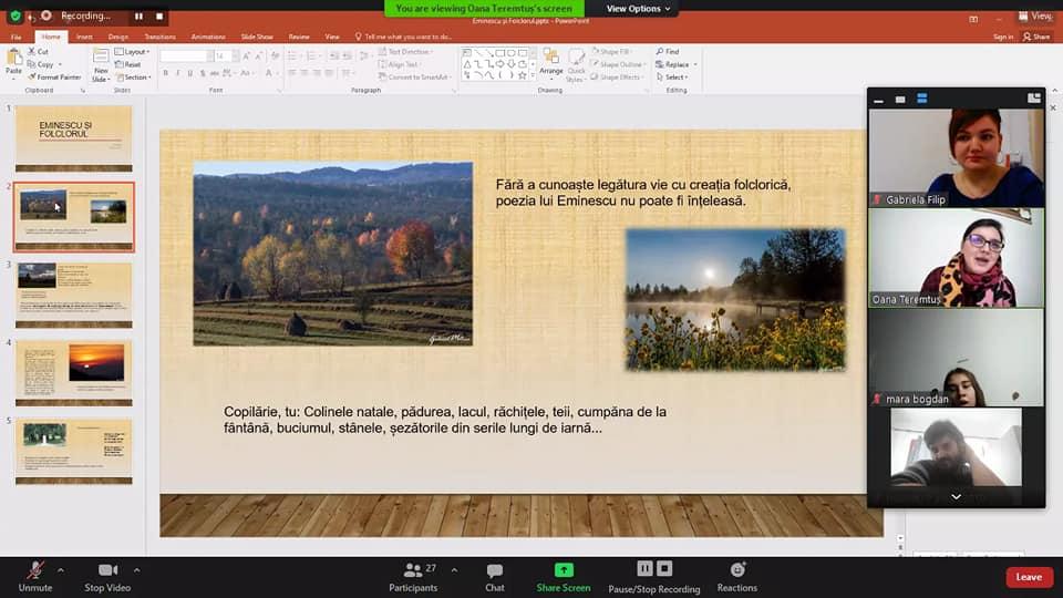 Ziua Culturii Naționale – O zi pentru Eminescu – De la Eminescu la folclor…
