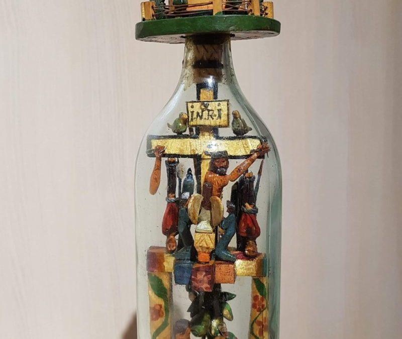 Obiecte cu poveste: Sticla cu poveste din Maramureș