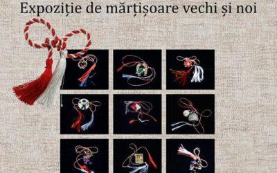 Timpul mărțișorului – Expoziție de mărțișoare vechi și noi